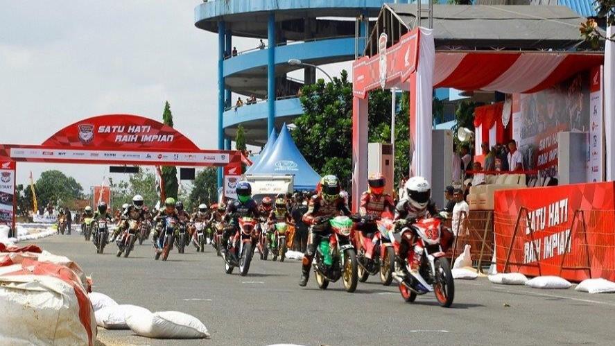 keseruan Honda Dream Cup di Purwokerto