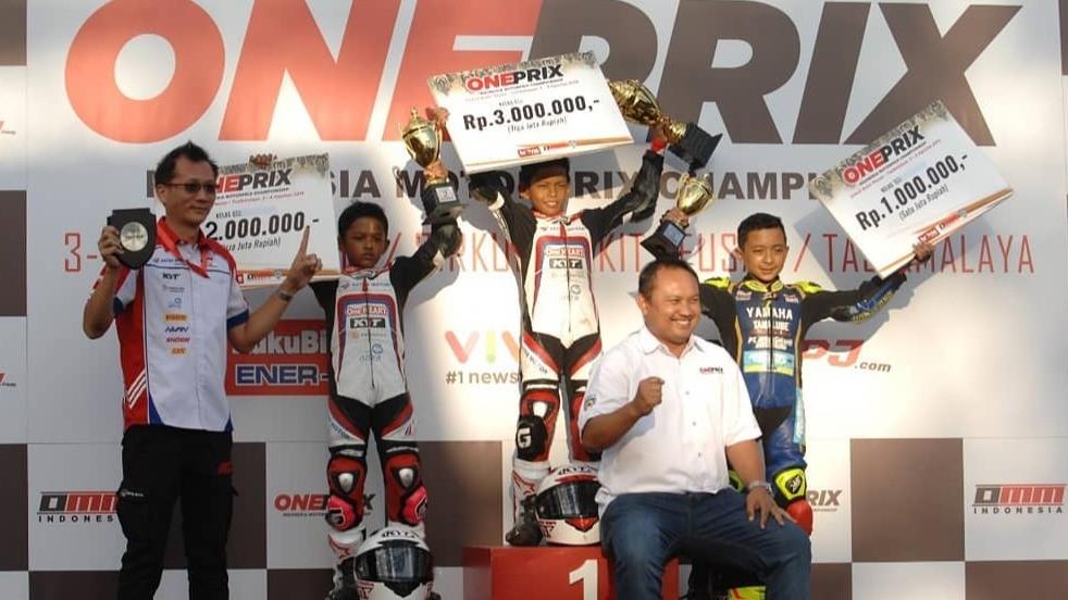 Pembalap Astra Motor Racing Team, Veda Ega Pratama