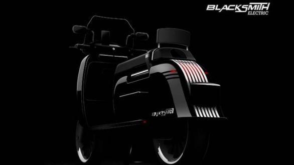 Blacksmith B3, skuter listrik dari India