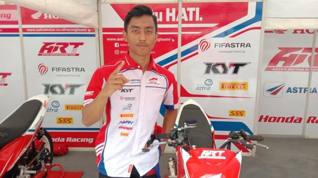 Pembalap Astra Motor Racing Team, Afridza Syach