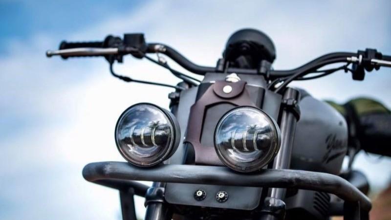 Modifikasi Yamaha XSR155 bergaya off-road