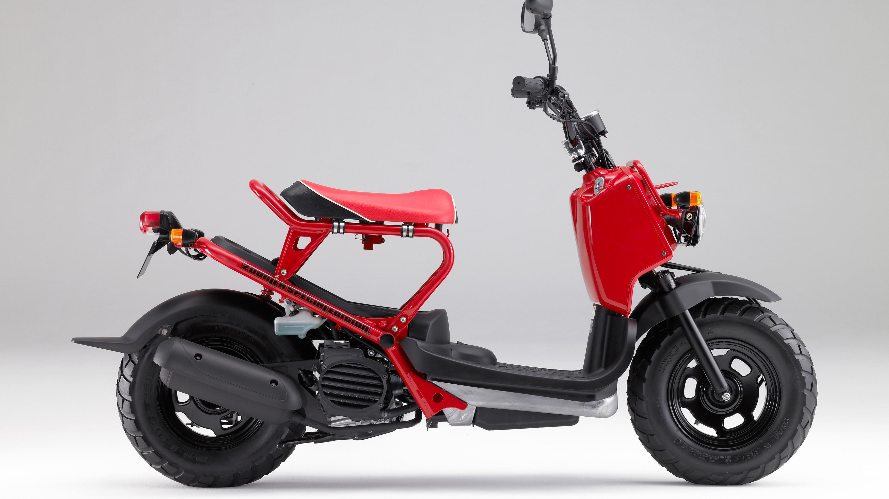 Honda Zoomer didaftarkan ke BPRD Jakarta.
