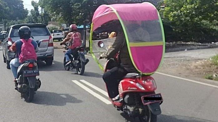Kanopi Sepeda Motor