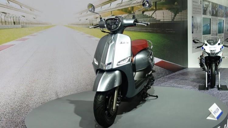 Suzuki Saluto 125.