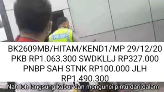Oknum Polisi Tunggak Pajak Kendaraan