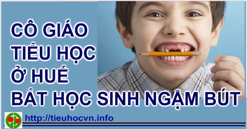 Co-gao-tieu-hoc-o-Hue-bat-hoc-sinh-ngam-but-de-giu-trat-tu