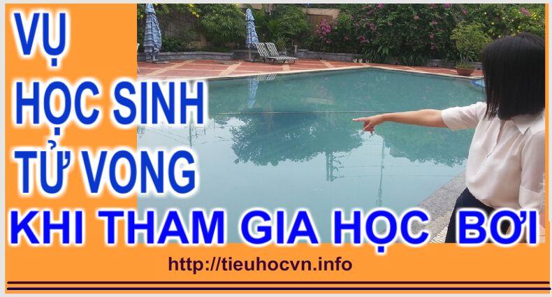 Một học sinh Tiểu học Hà Nội tử vong khi tham gia học bơi