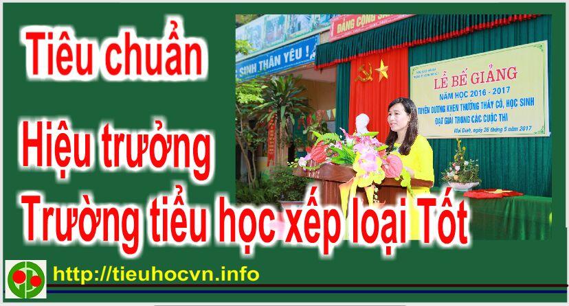 tieu-chuan-hieu-truong-tieu-hoc-duoc-xep-loai-tot