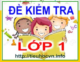 De-kiem-tra-Cac-mon-hoc-lop-1