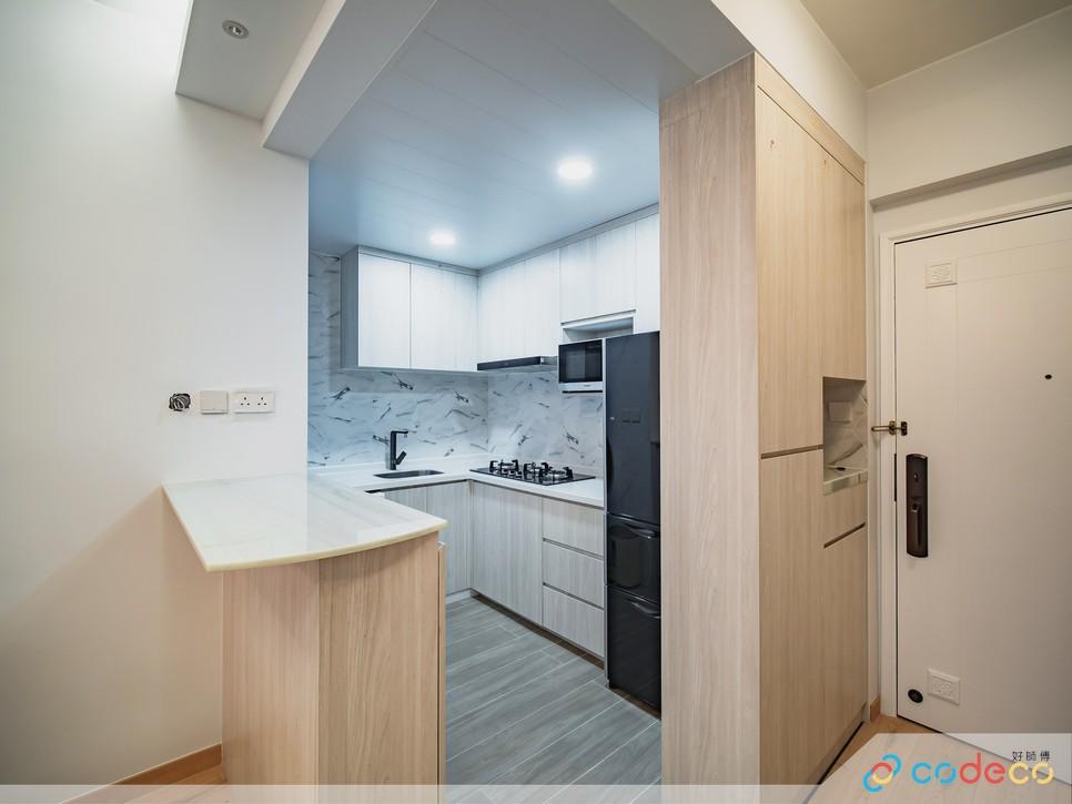 Minimalist interior design open layout open kitchen