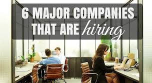 6 major companies that are looking to hire in 2016