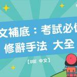 【 DSE 中文 】 中文補底 :考試必備 修辭手法 大全