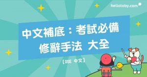 HelloToby, DSE, DSE中文, DSE中文補習, HelloToby, 中文修辭手法, 中文老師, 中文補底, 中文補習, 修辭手法, 學中文, 學習進修, 私人補習