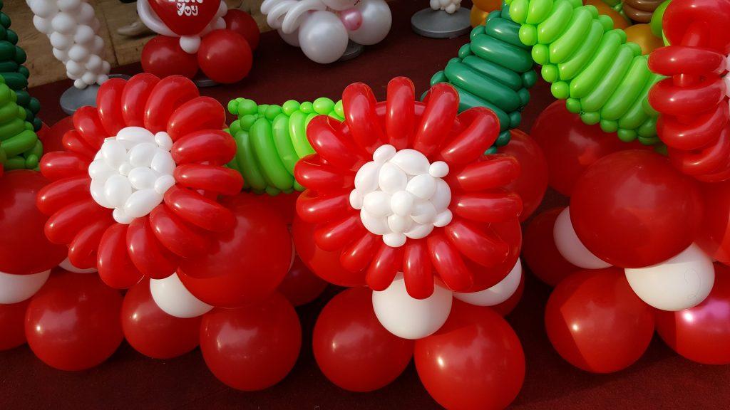 派對氣球, 生日氣球佈置