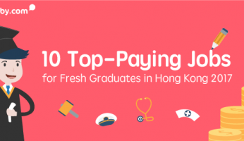 10 Top-Paying Jobs and their Starting Salaries for Fresh Graduates in Hong Kong 2017