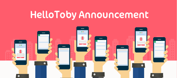 【Limited Time Offer】Purchase HelloToby Credits now for 30% Off(12/4/2017 - 16/4/2017)