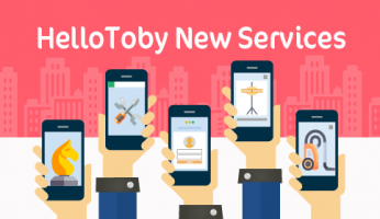 New HelloToby Services for Your All Round Needs (Updated on 24/4/2017)