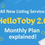 All New Listing Service: HelloToby 2.0 Monthly Plan explained!