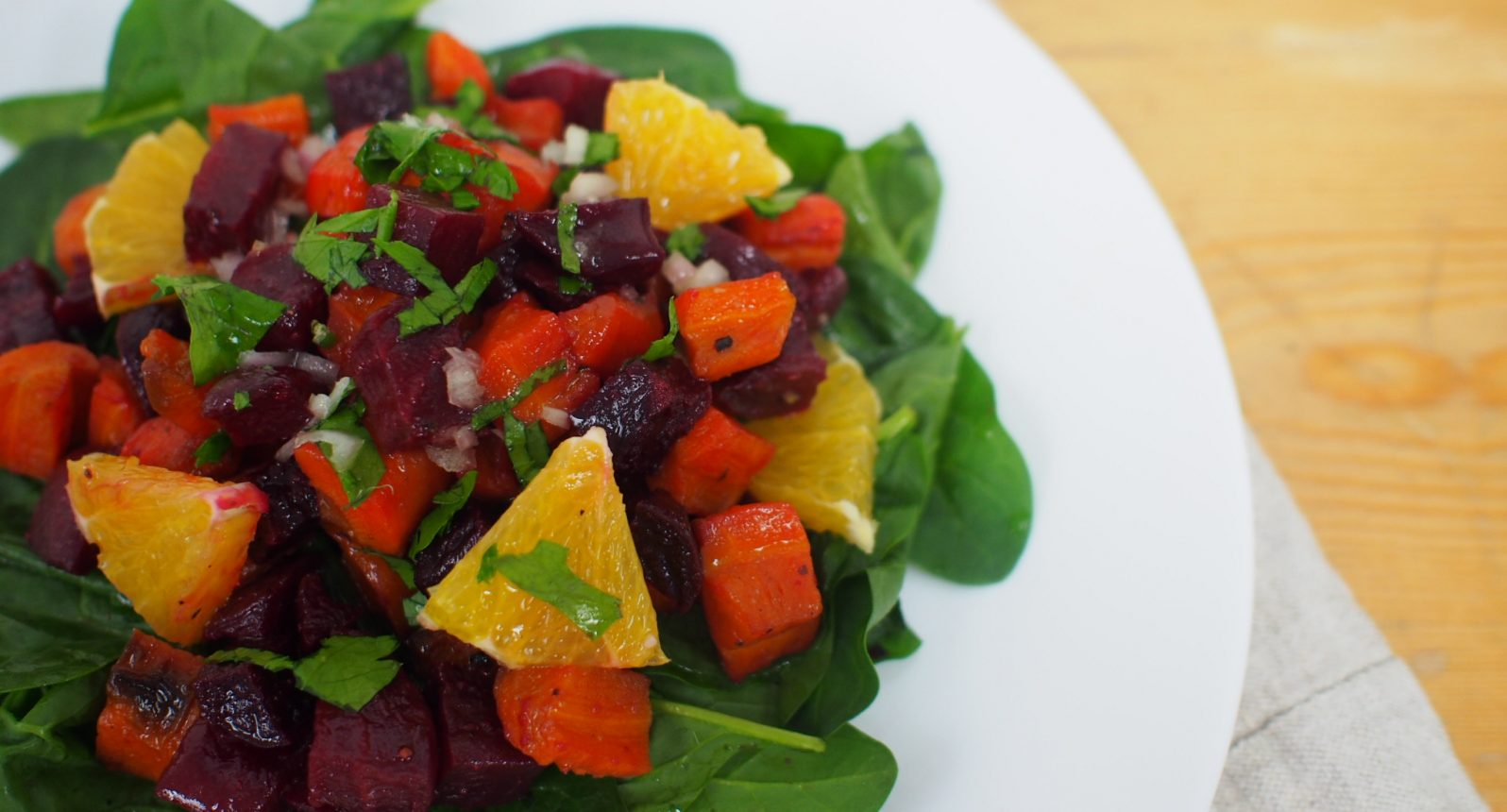 Beetroot, carrot, salad, Christmas dishes, recipe