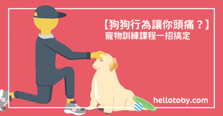 【狗狗行為讓你頭痛?】 寵物訓練 課程一招搞定