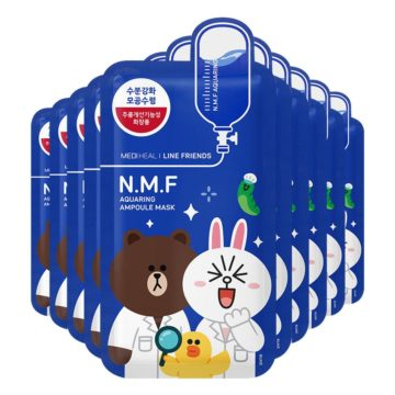 Mediheal Line Friends N.M.F Aquaring Ampoule Mask