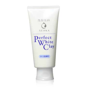 Shiseido Senka Perfect White Clay Facial Cleanser (120g)