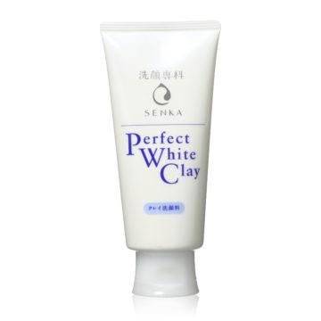 Shiseido Senka Perfect White Clay Facial Cleanser