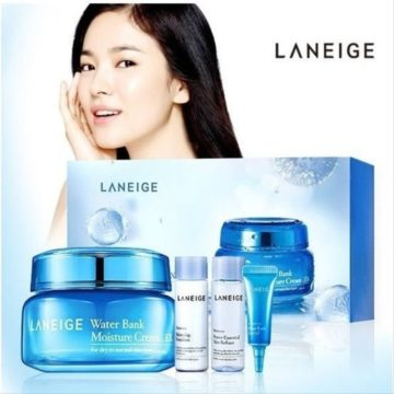 Laneige Water Bank Water Bank Gel Cream Set