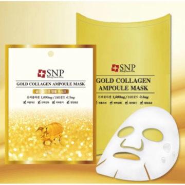 SNP Gold Collagen Ampoule Mask (10piece)