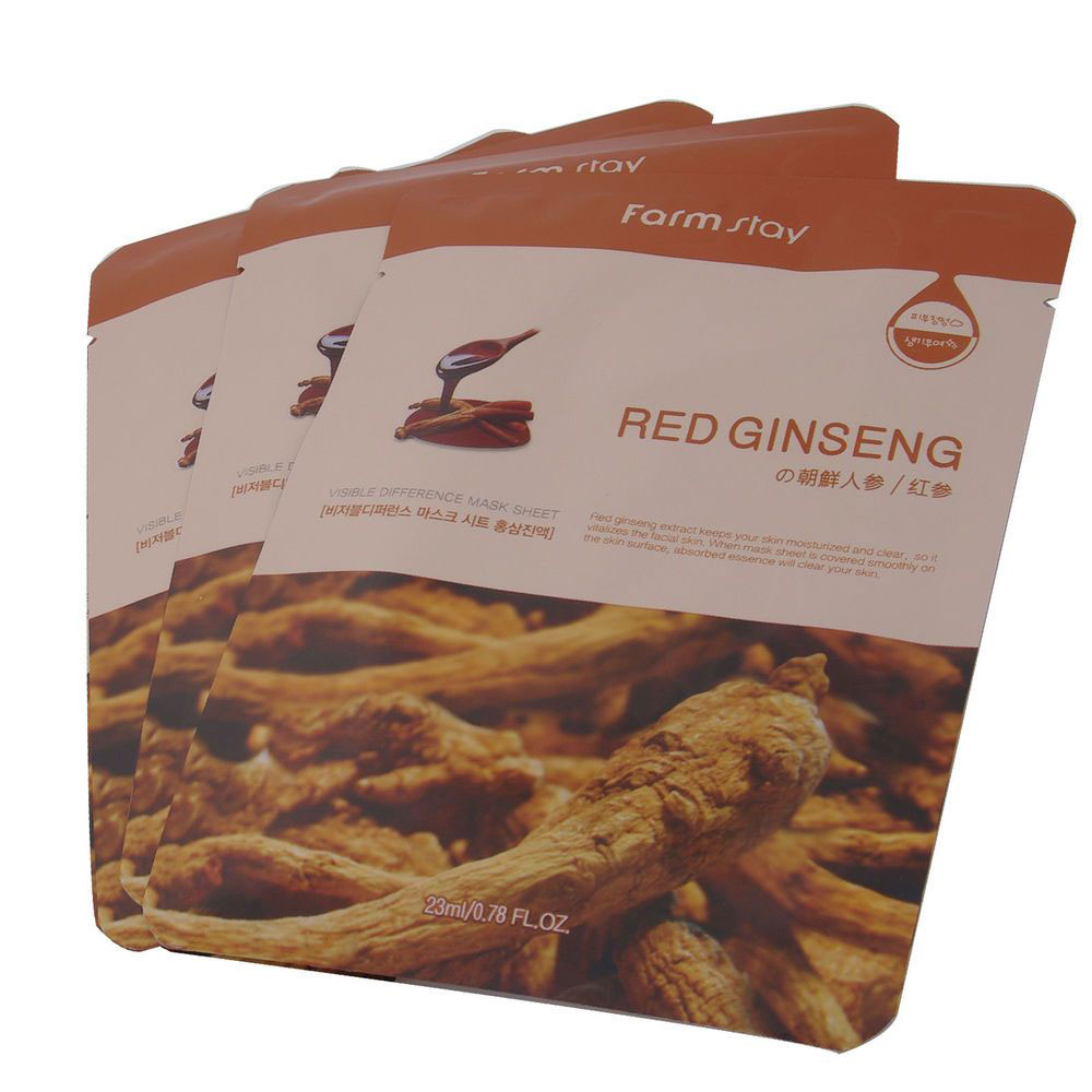 Farm Stay Red Ginseng Visible Difference Mask Sheet