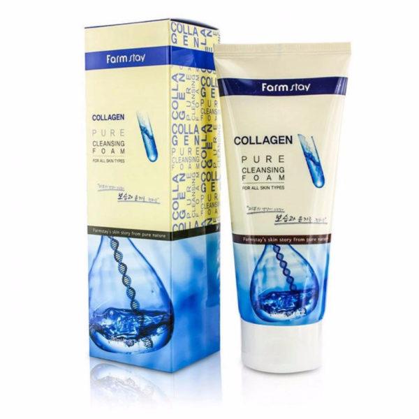 Farm Stay Pure Cleansing Foam (Collagen)