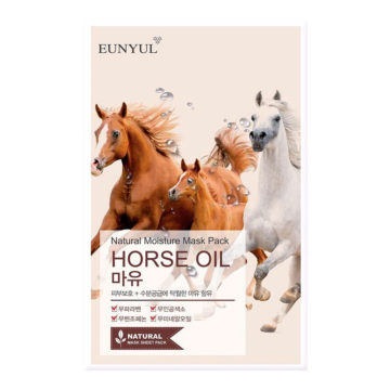 EUNYUL Natural Moisture Mask Pack –Horse Oil