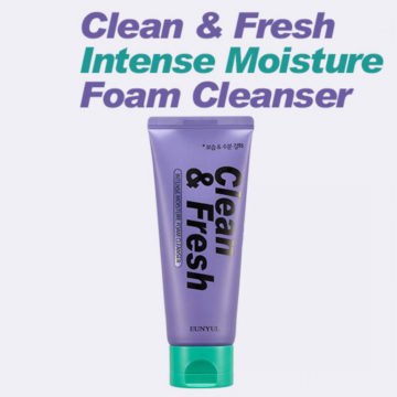 EUNYUL Clean & Fresh Intense Moisture Cleansing Foam