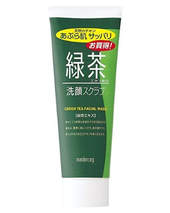 Bifesta Green Tea Facial Wash (100g)