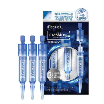 Mediheal Masking Layering Ampoule Hydra Shot (3pcs)