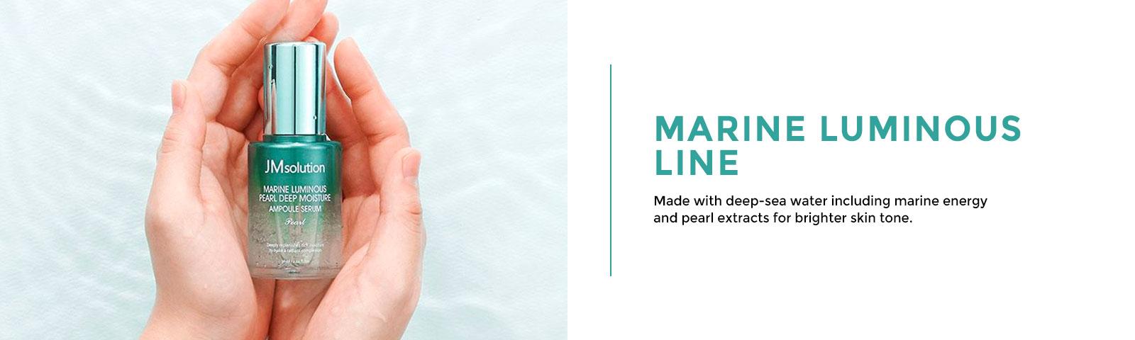 subline banner marine luminous JMsolution