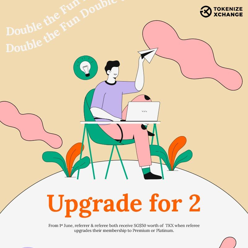 Tokenize Xchange upgrade for two promotion