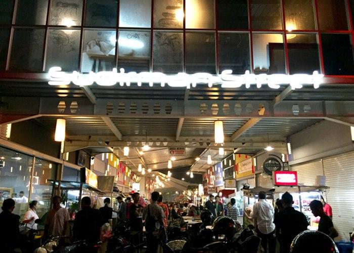sudirman street bandung kuliner