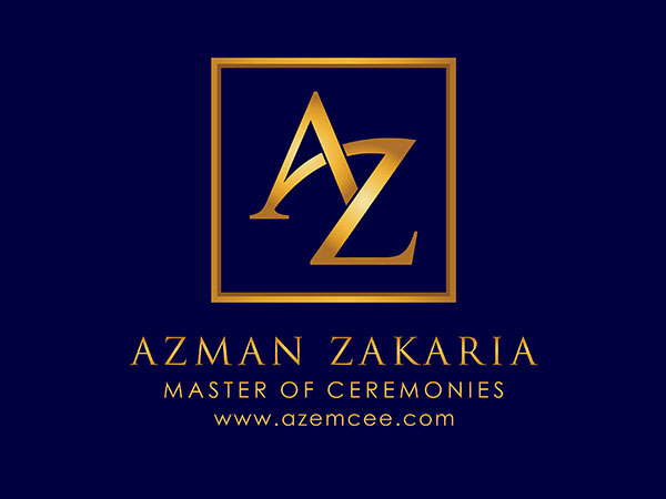 Azman Zakaria Master of Ceremonies
