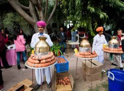 Street Food in Jaipur