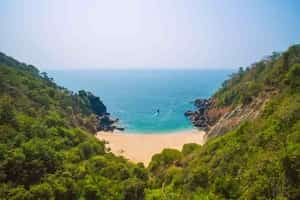 Hidden beaches  in Goa