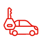 Lost, stolen or accidentally damaged Rental Motor Vehicle Key