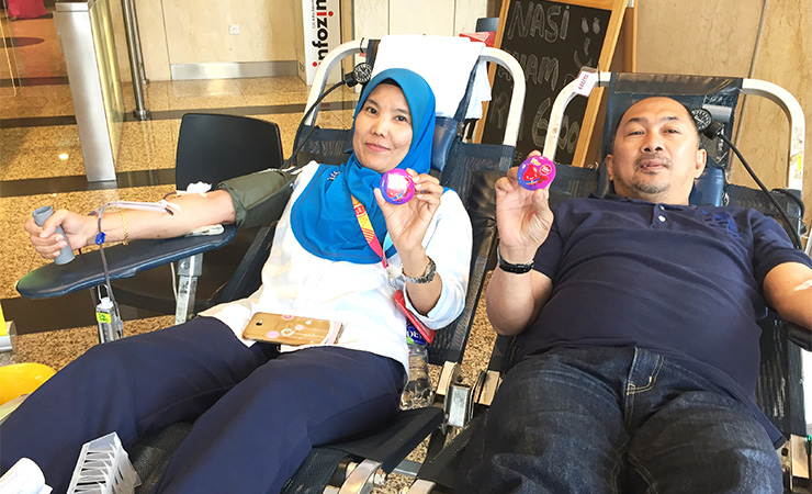 Blood Donation Tune Protect