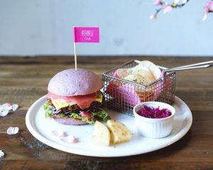 Sakura Burger by Botanist Tokyo