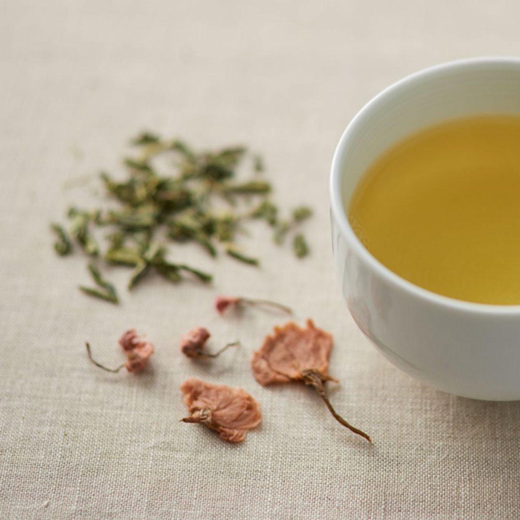 Sakura Green tea