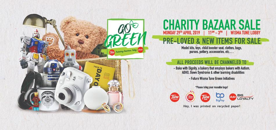Pre-Loved Charity Bazaar 2019