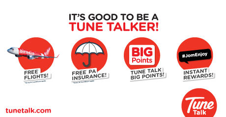 Tunetalk - Tune Talk Roaming Data