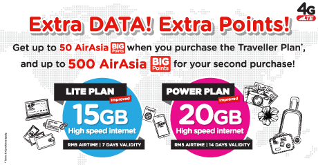 Tunetalk - Tune Talk Traveller Data Plans in Lite or Power | Widest