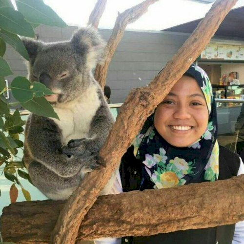 Arifah - Sydney: I am Arifah and I'm in my final year of Bache...