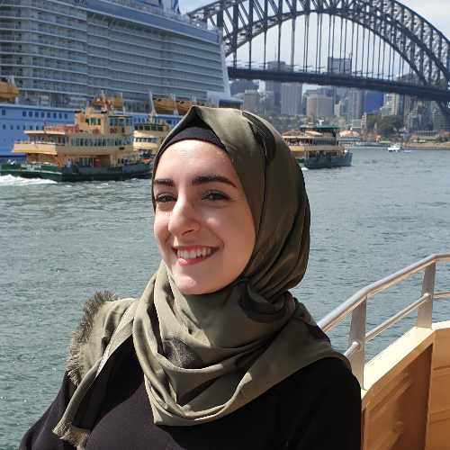 Dana - Sydney: Hi, my name is Dana and I'm from Lebanon. I mov...